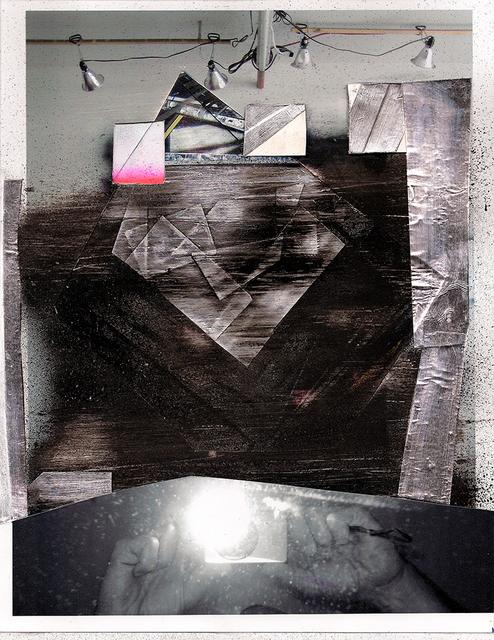, 'Collage 2, Studio Dissapears,' 2011, MLF | MARIE-LAURE FLEISCH