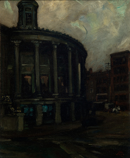 , 'Philadelphia Stock Exchange,' 1897-1889, Delaware Art Museum