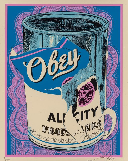 Shepard Fairey, 'Soup Can IV', 2009, Heritage Auctions