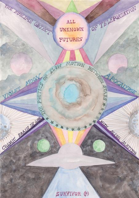 Suzanne Treister, 'SURVIVOR (F)/All Unknown Futures', 2016-2019, Annely Juda Fine Art