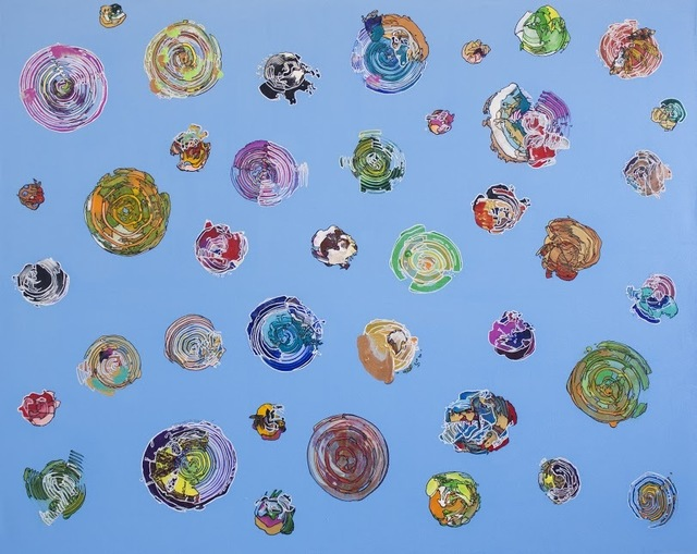 , 'Particles,' 2017, Ro2 Art