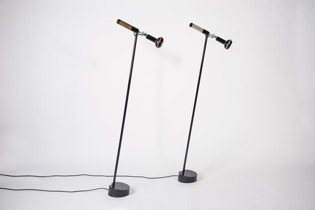 ", '""Grip"" floor lamp,' 1985, Casati Gallery"