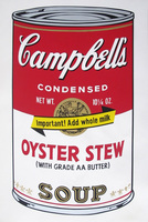 Andy Warhol, Campbell's Soup II: Oyster Stew (FS II.60)