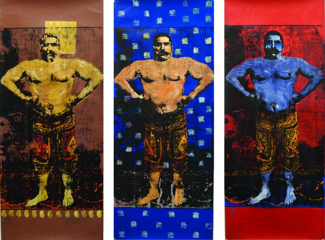 , 'Pahlavan Triptych,' , ArtCN
