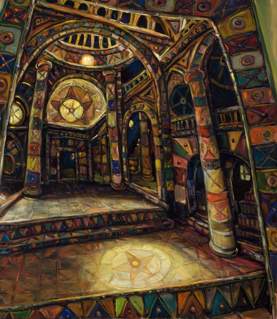 Chuck Connelly, 'Cathedral', 2007, Painting, Oil on canvas, Doyle