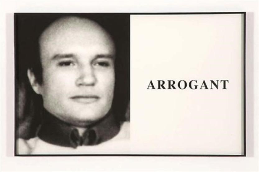 """JOHN BALDESSARI  """"Arrogant"""", 2005"""