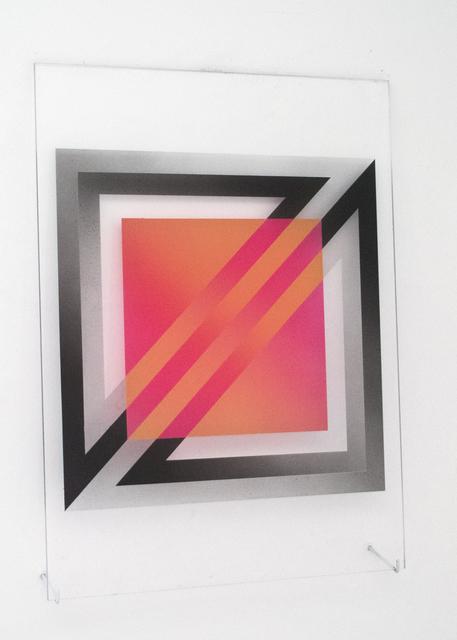 , '(untitled - square overlapping squares),' 2017, Galleri Urbane