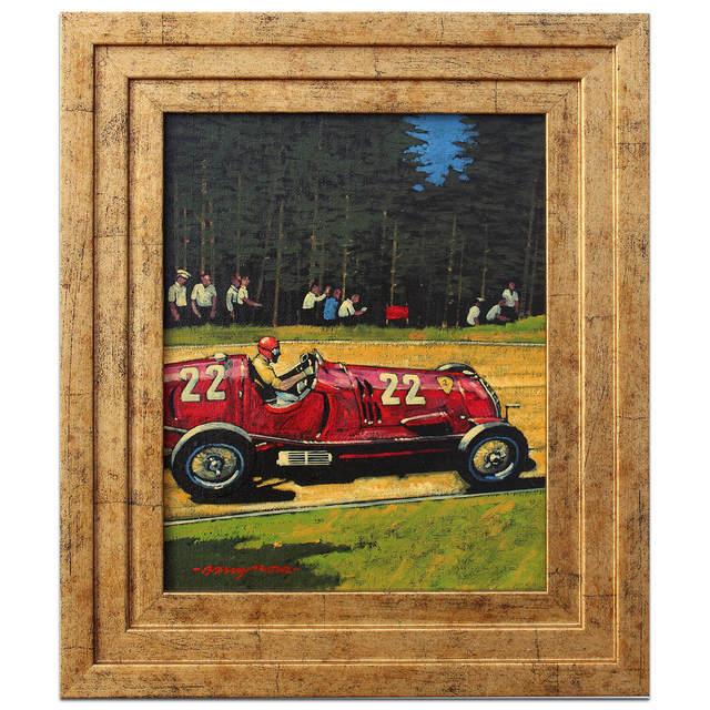 , 'Tazio Nuvolari at the Nürburgring 1937   Automotive   Car,' 2013, Whyte Fine Art