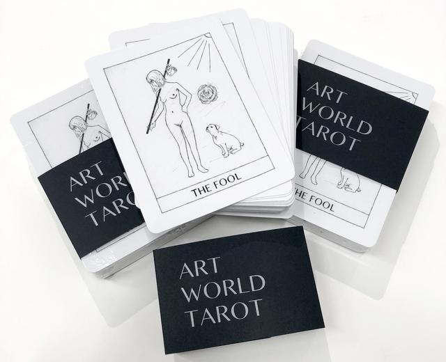, 'Art World Tarot,' 2018, Ever Gold [Projects]