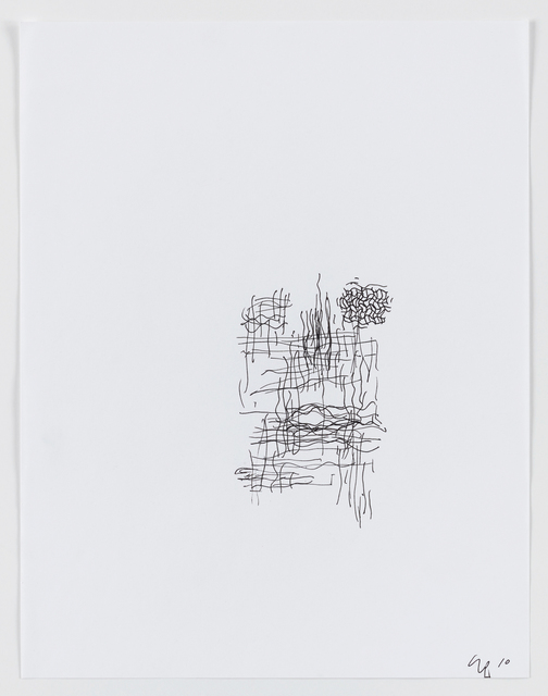 """Seth Price, 'Cover Sketch for """"Was ist Los""""', 2010, The Wooster Group Benefit Auction"""