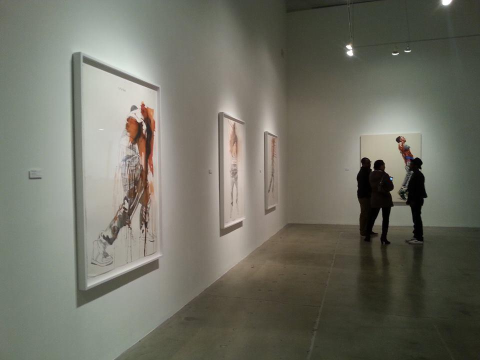 "Fahamu Pecou ""GRAV-I-TY"" installation at MOCAGA"