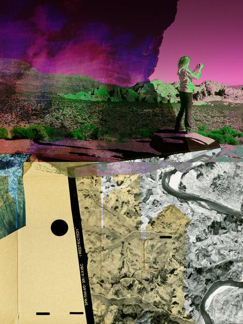 , 'Restricted Area,' 2016, Nicole Longnecker Gallery