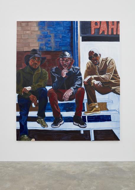 , 'Cowboy E, Sean Cross, and Og Jabar,' 2017, Casey Kaplan