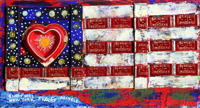 Konstantin Bokov, 'Flag', 2002, RoGallery