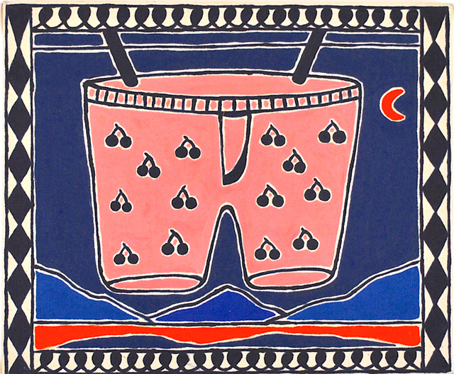 , 'Boxershorts Drying in the Warm Evening Air,' 2019, Hans Alf Gallery