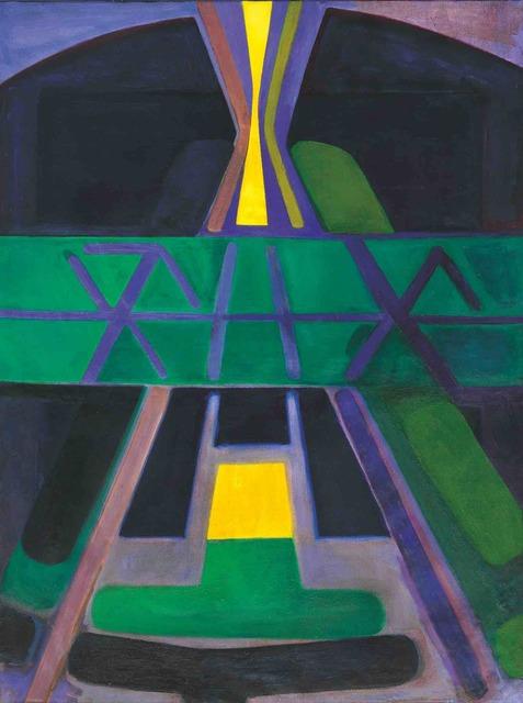 Américo Spósito, 'Desde la luz-Mapuche ', 1989, Galería de las Misiones