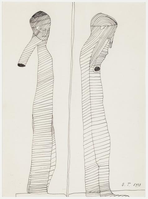 , 'Antike Figuren,' 1973, Ricco/Maresca Gallery