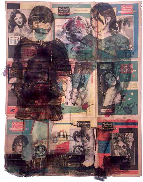 , 'Vitela: La prensa//Tlatelolco,' 2017, WALDEN
