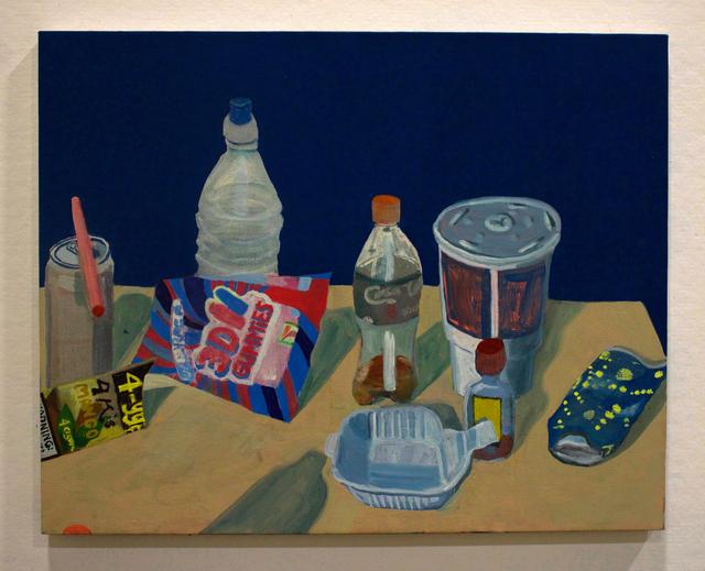 , 'Cups, Bottles, Straws, Etc.,' 2018, Mindy Solomon Gallery