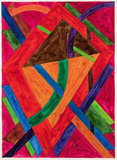 William T. Williams, 'Buffalo Rain (Drawing for Sophie Jackson)', 1970, Michael Rosenfeld Gallery