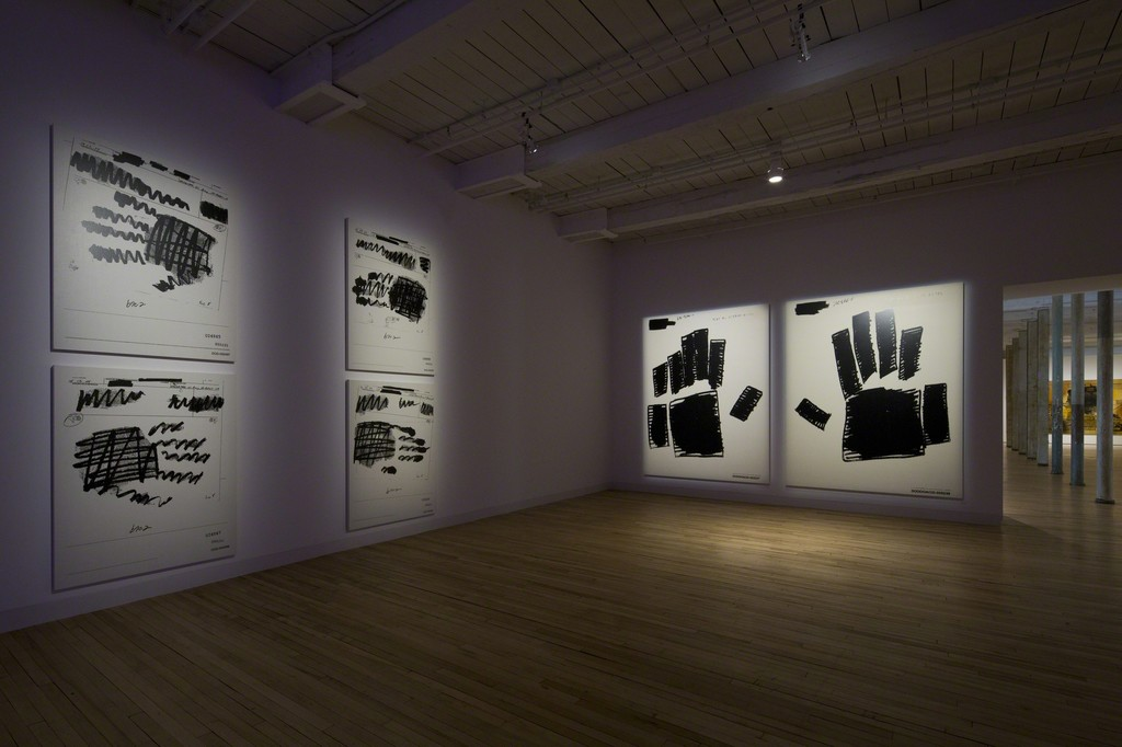 Installation view of Jenny Holzer at MASS MoCA, North Adams, MA (on view beginning May 28, 2017)