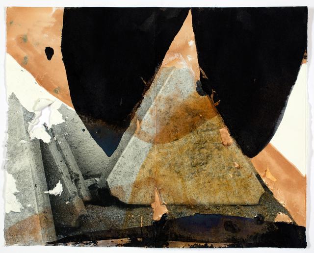 , 'Elongated moons pulling downwards,' 2017, Galerie Krinzinger