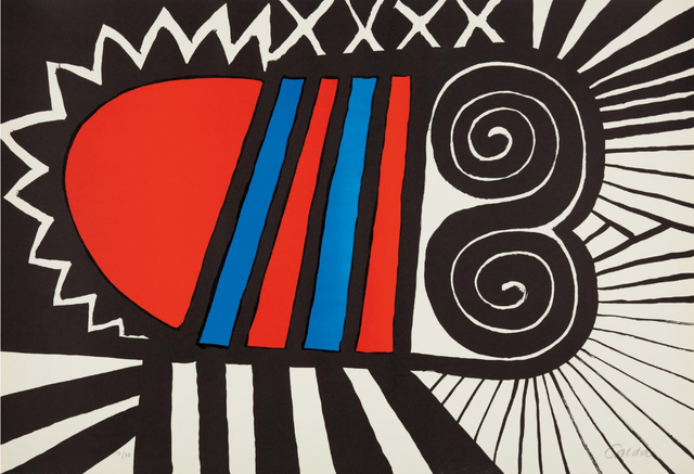 Alexander Calder, 'Papoose', 1969, Nikola Rukaj Gallery