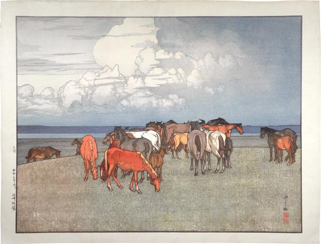 , 'Numazaki Pasture,' 1928, Scholten Japanese Art