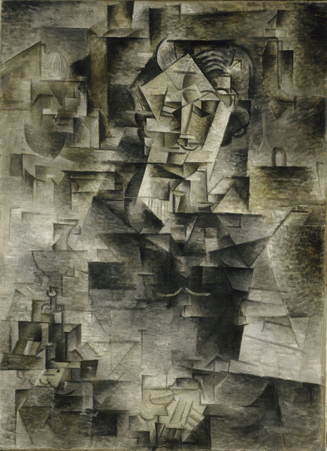 Pablo Picasso, 'Daniel-Henry Kahnweiler', 1910, Art Institute of Chicago