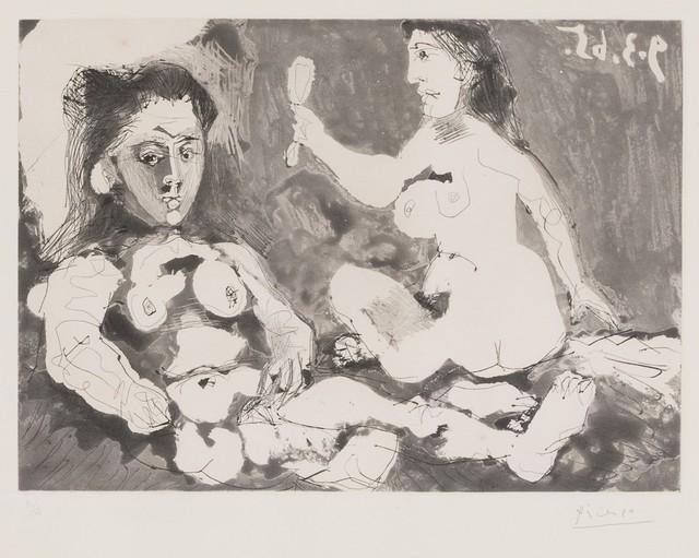 Pablo Picasso, 'Femmes nues au miroir', 1965, Finarte
