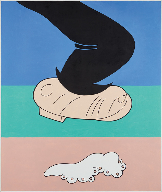 John Wesley, 'Bumstead's Foot', 1991, Painting, Acrylic on canvas, Phillips