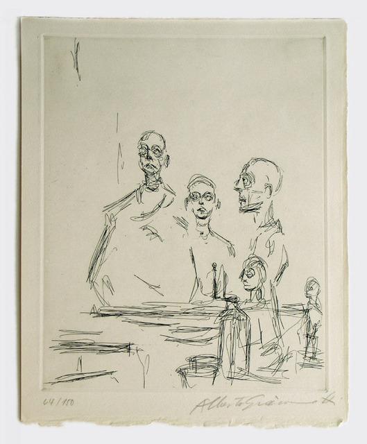 , 'Sculptures dans L Atelier,' 1964, Nikola Rukaj Gallery