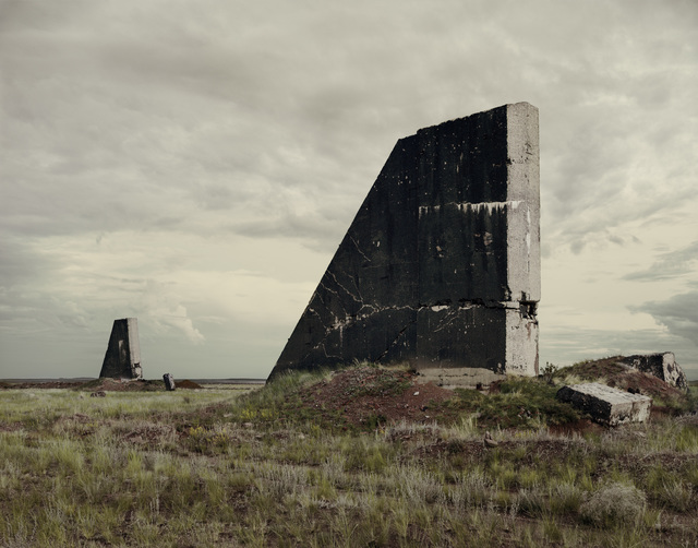 , 'The Polygon Nuclear Test Site I (After The Event),Kazakhstan,' 2011, Torch