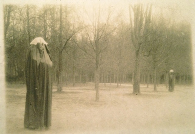 ", 'Winter in the Park of Versailles, from ""Unseen Versailles"",' 1980, Staley-Wise Gallery"