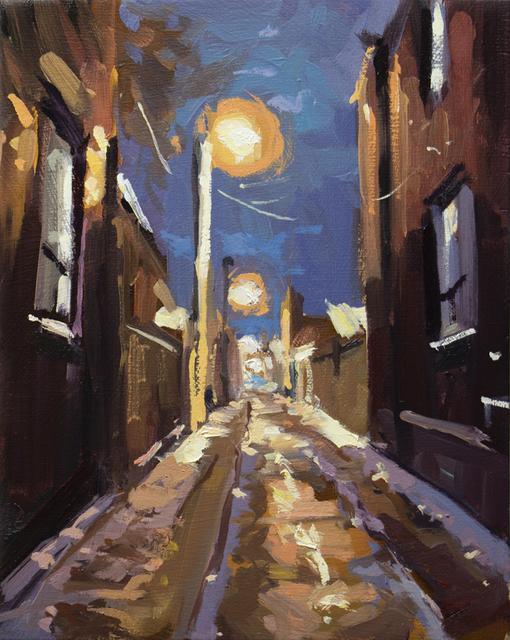 , 'Winter Evening Laneway,' 2018, Abbozzo Gallery