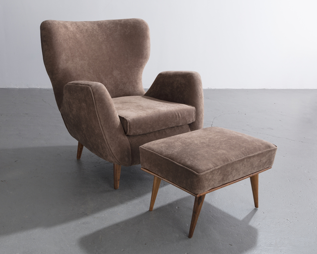 , 'Lounge chair and ottoman ,' , R & Company