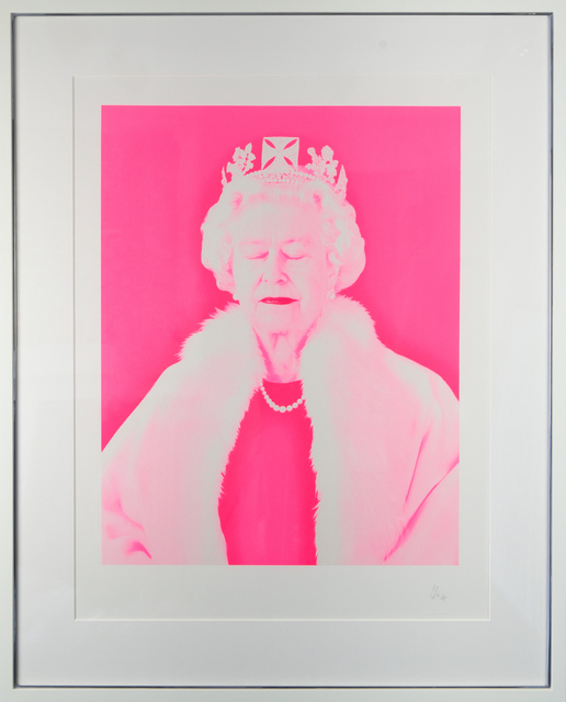 Chris Levine, 'Lightness Of Being (Fluoro)', 2016, Photography, Silkscreen on paper, The Drang Gallery