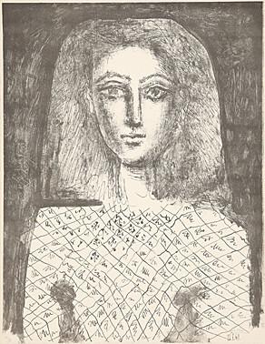 Pablo Picasso, 'Le corsage à carreaux (Die karierte Bluse)', 1949, Galerie Boisseree