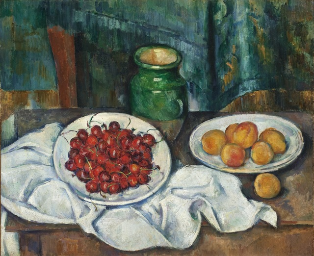 Paul Cézanne, 'Still Life with Cherries and Peaches', 1885-1887, Painting, Oil on canvas, Los Angeles County Museum of Art