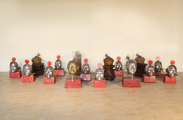 , 'The Heads of Gamelan,' 2008, Mizuma Art Gallery