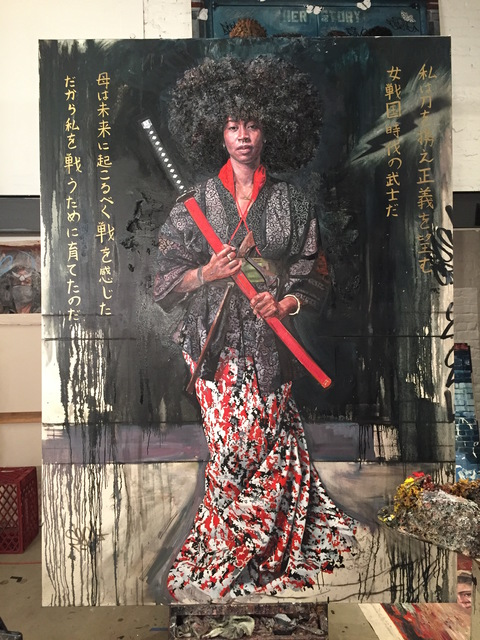 , 'The Samurai Princess (Onna-Bugeisha),' 2016, McCaig-Welles