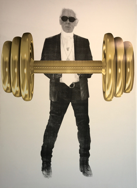 , 'Karl with Gold Dumbbell,' , Art Angels