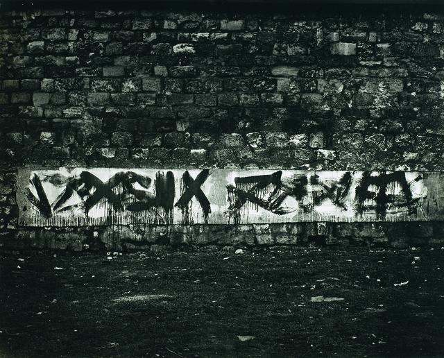 Brassaï, 'Graffiti de la série II, Le langage du mur', 1940, Waddington Custot