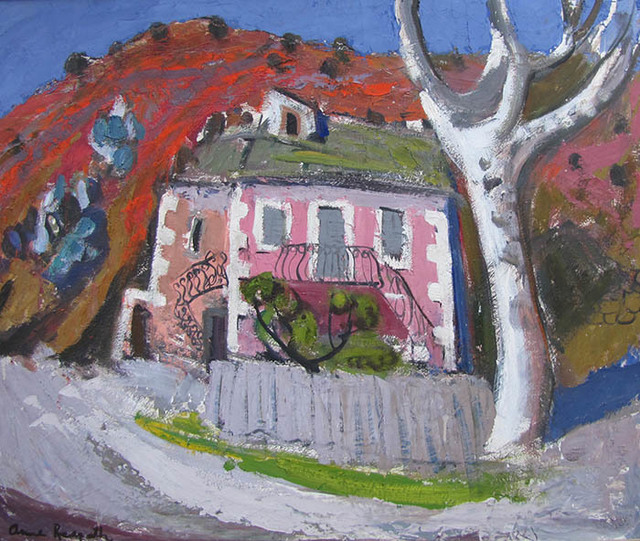 , 'Pink House Corsica,' ca. 1954, The Scottish Gallery