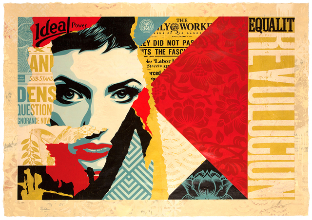 Shepard Fairey (OBEY), 'Ideal Power', 2018, Galerie Ernst Hilger