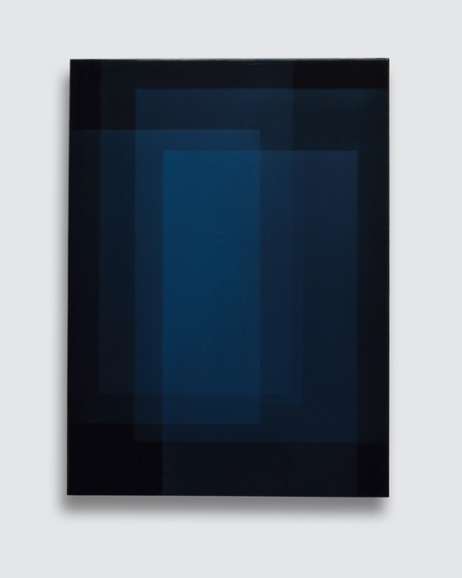 , '# 2161 (blau),' 2016, Diana Lowenstein Gallery
