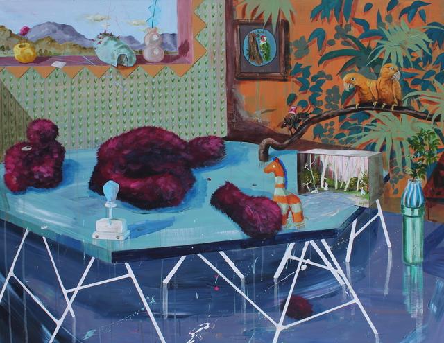 , 'Tulpen verwelken, beertjes vergaan,' 2017, Nathalia Tsala Gallery