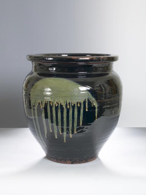 , 'Large Jar with Black Glaze,' n/a, Pucker Gallery