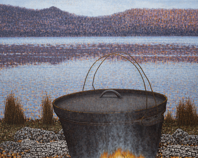 Richard Wastell, 'The Camp Oven', 2019, Bett Gallery
