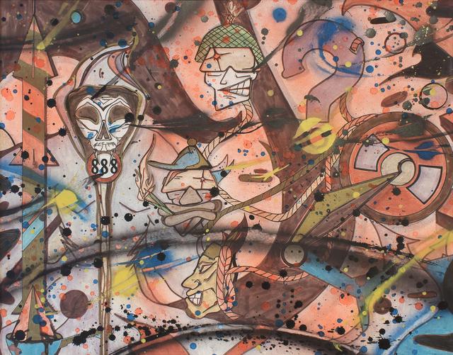 , 'Untitled,' 1991, Lazinc